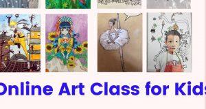 Online Kid Art Class