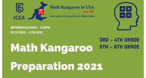 Math Kangaroo Preparation 2021 [3rd - 4th & 5th - 6th Grade]