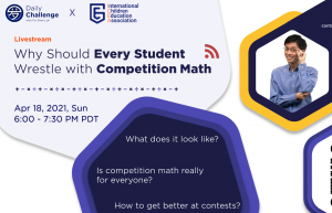 Po-Shen Loh: Why Should Every Student Wrestle with Competition Math