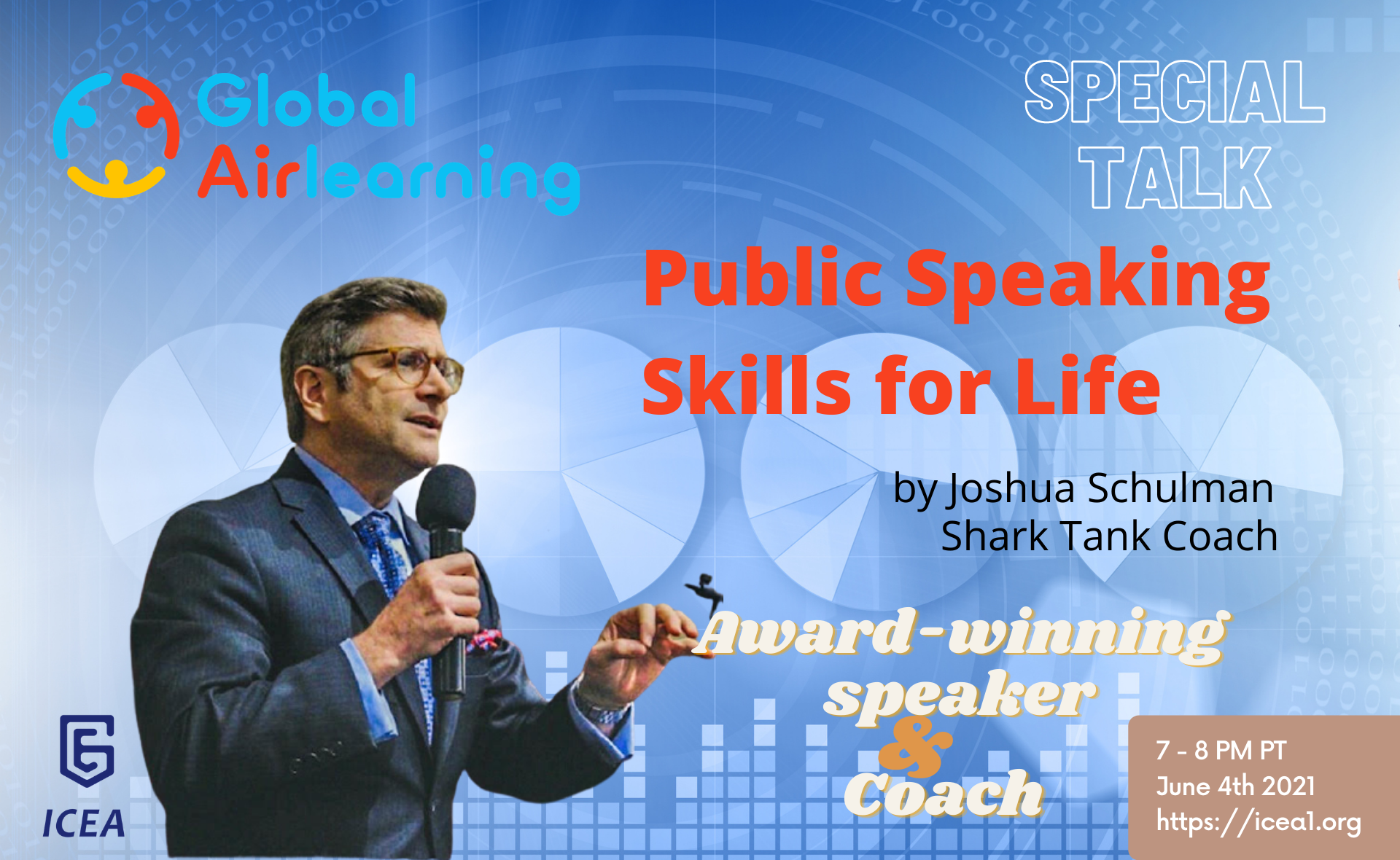 [Global AirLearning Special Talk] Public Speaking Skills for Life