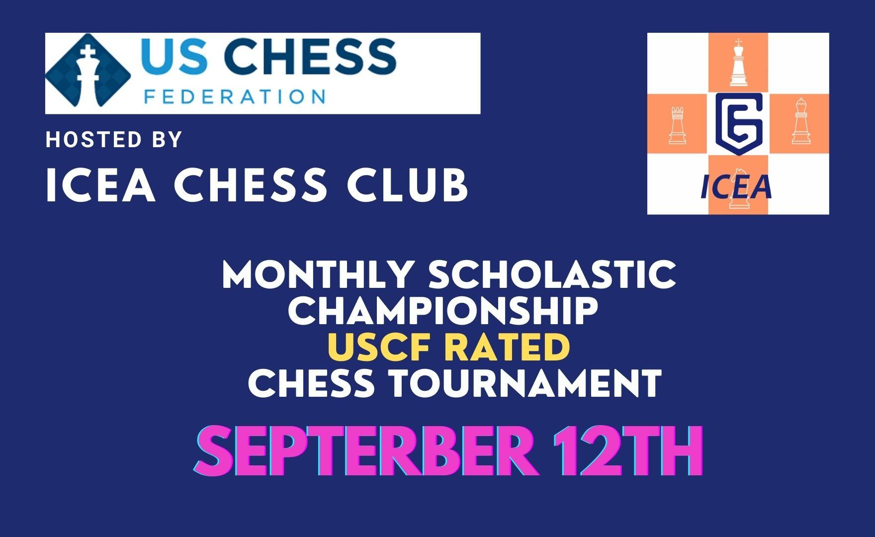 ICEA September Scholastic Championship Chess Tournament