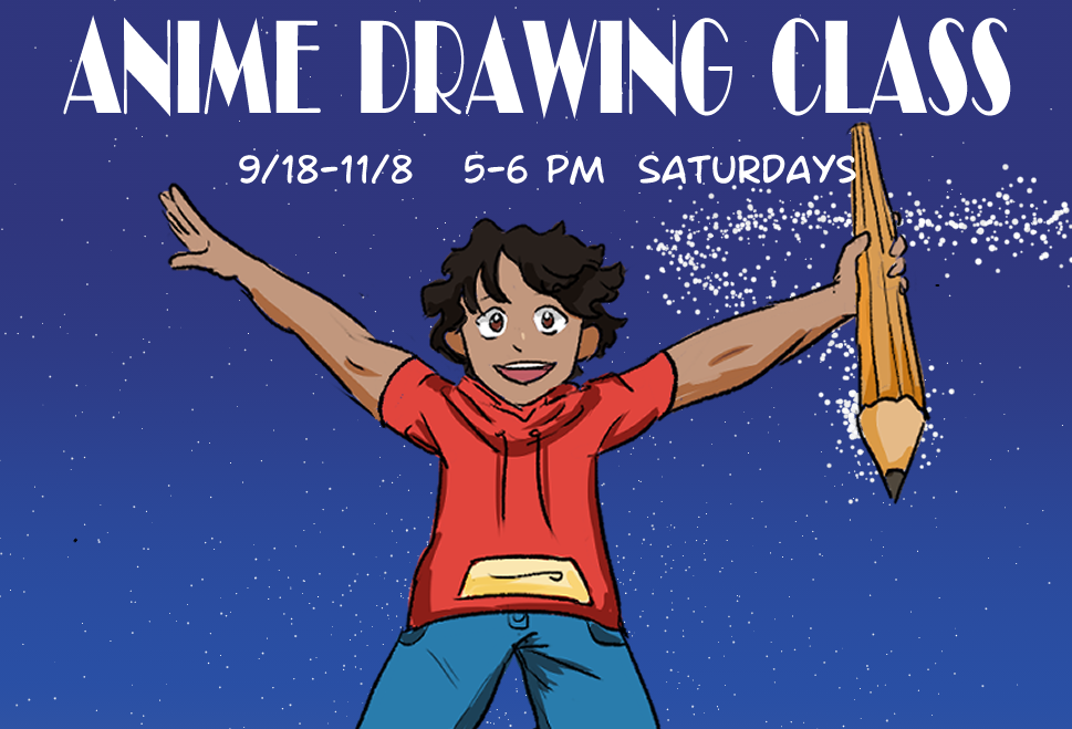 Anime Drawing Class with Claire
